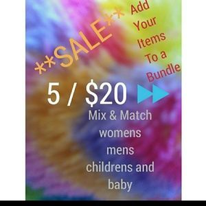 5/$20⏩sale add this to your bundle